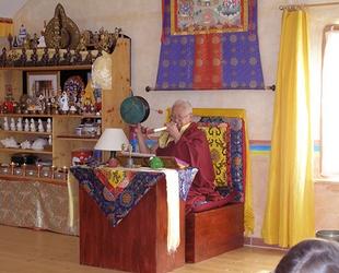 Vénérable Lama Teunzang
