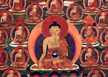 Shakyamouni et les 35 Bouddhas de confession